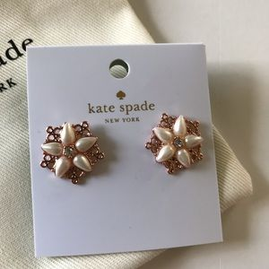 Kate Spade Rose Gold Plated CHANTILLY CHARM